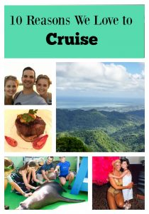 10 Reasons We Love to Cruise
