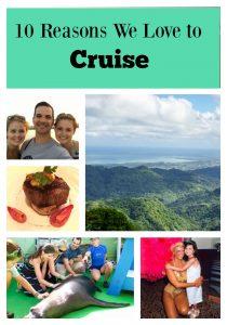 10 Reasons We Love to Cruise
