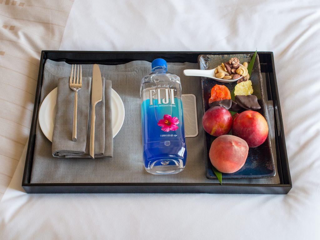 LoewsRegencySF-WelcomeTray